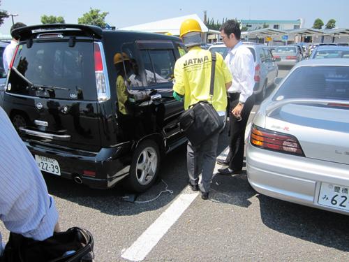 日常のタイヤ点検の状況をアンケート調査