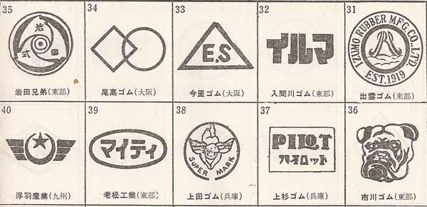 昭和の企業ロゴ