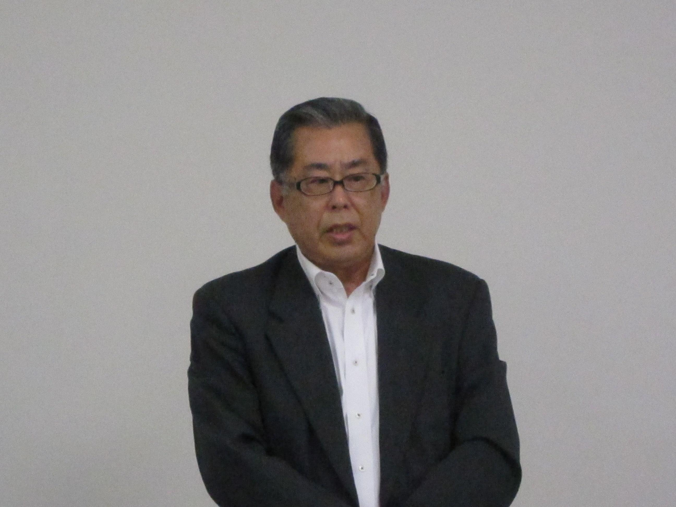 岡本武雄社長