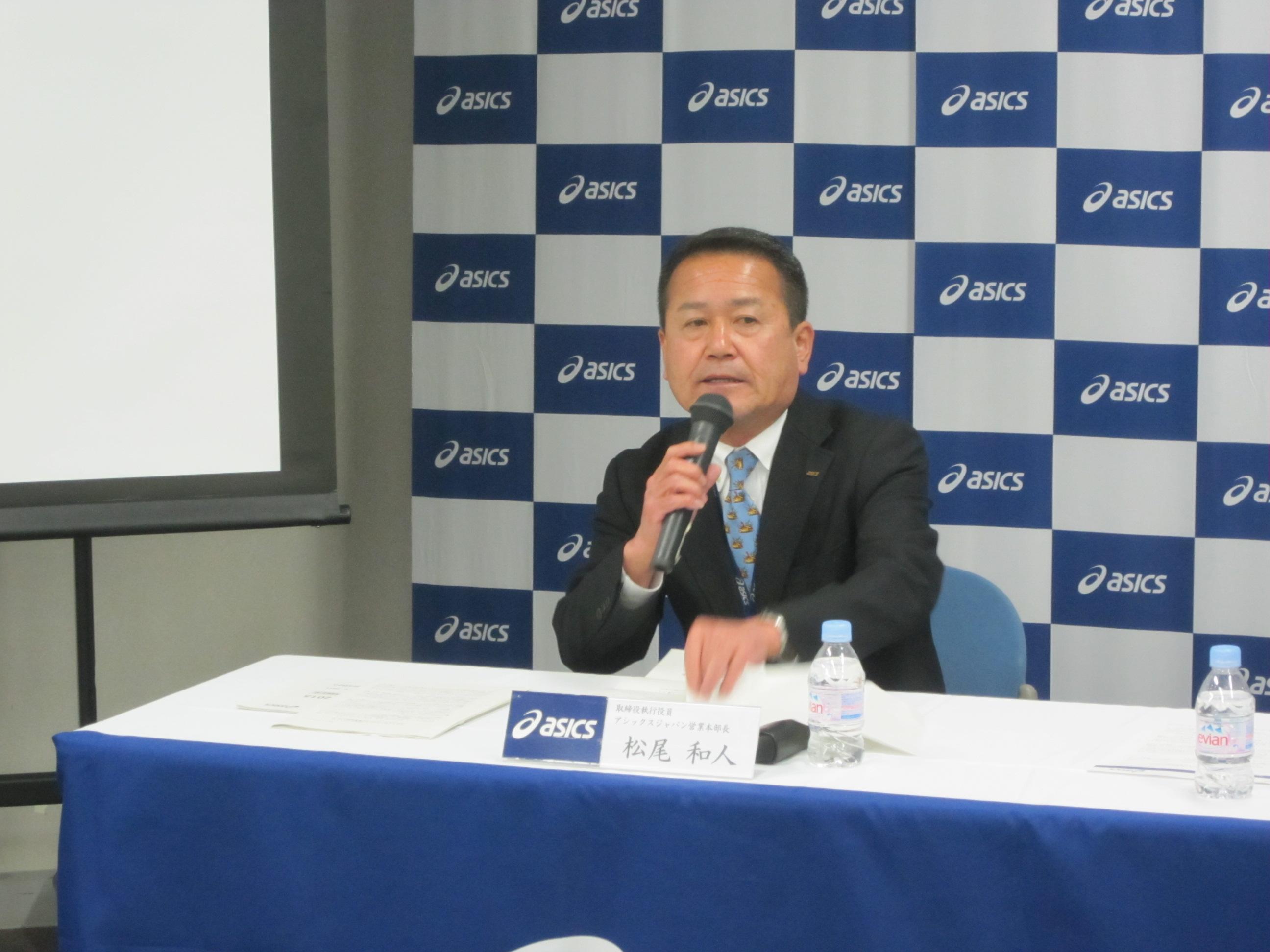 取締役執行役員営業本部本部長の松尾和人氏