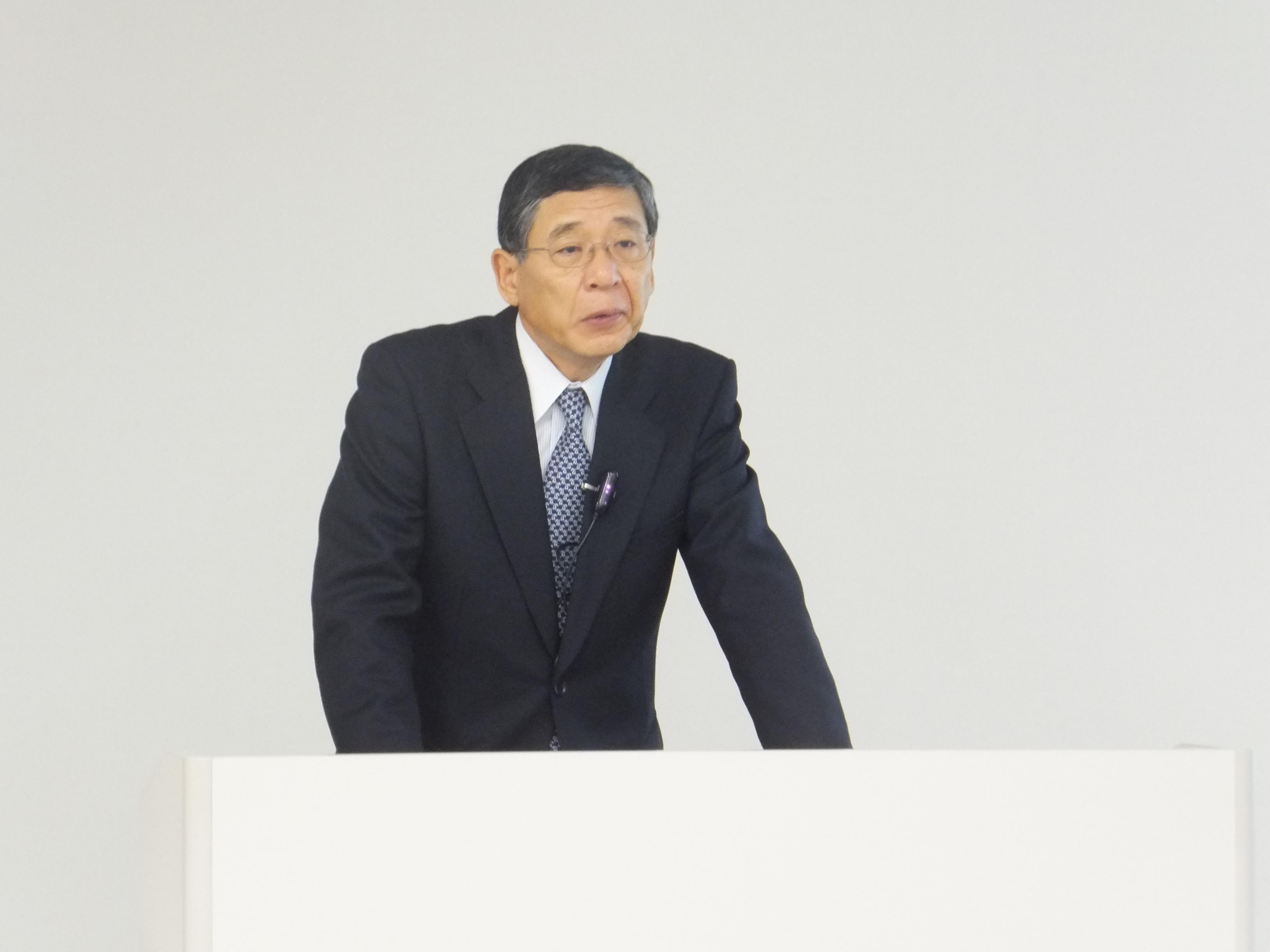 解説する南執行役員