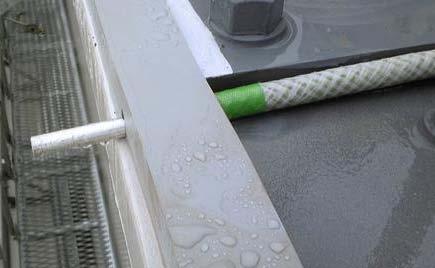 施工現場事例:ジョイントプレート(鋼材の継ぎ手部分)