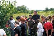 アメリカ 自然環境教育授業の様子(2)
