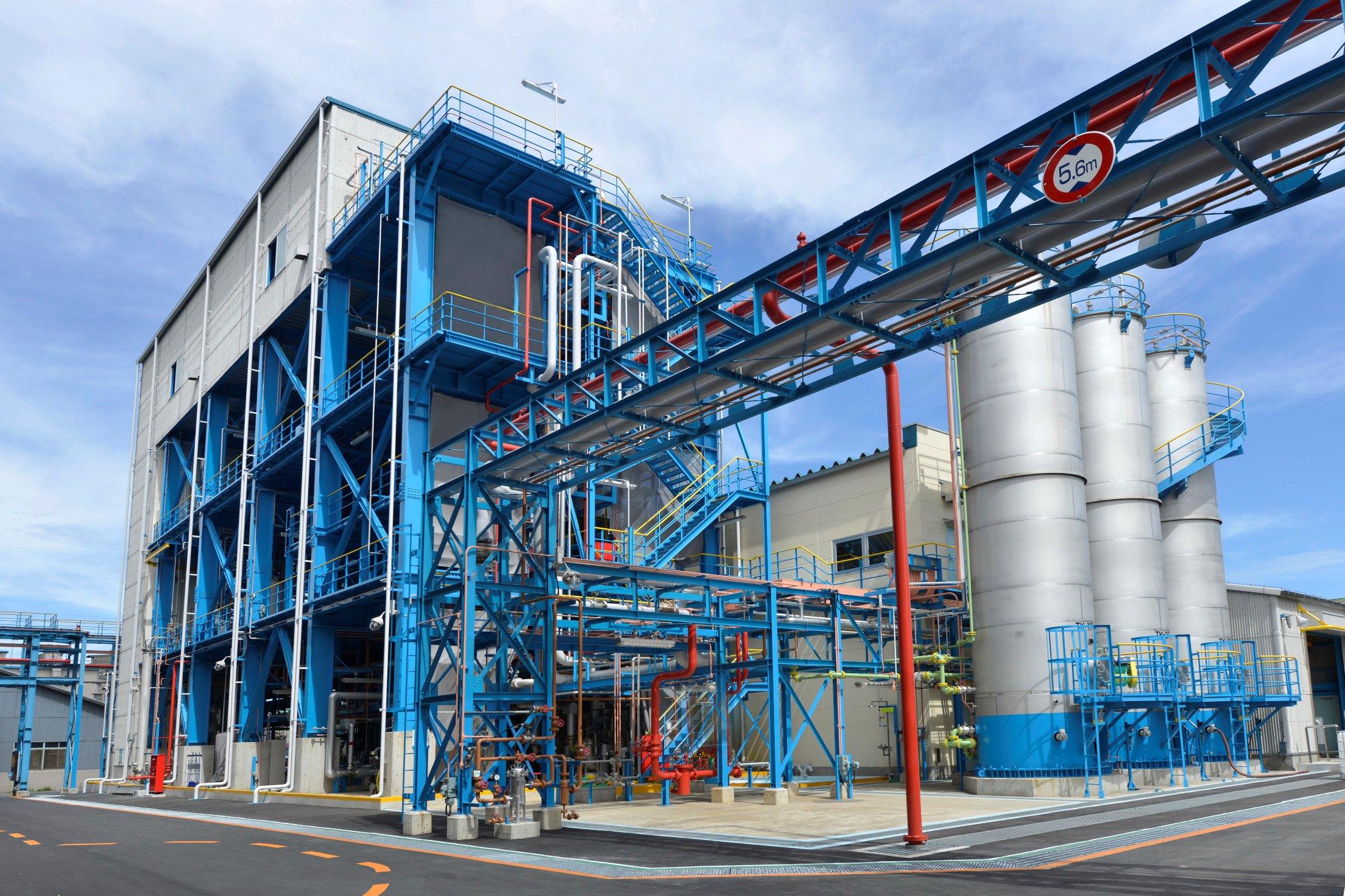 日本ゼオンの新ゼットポールプラント(川崎工場)