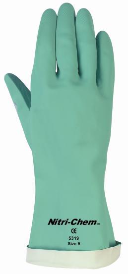 耐化学薬品用グローブNITRI-CHEM 53195319E(MCR社)