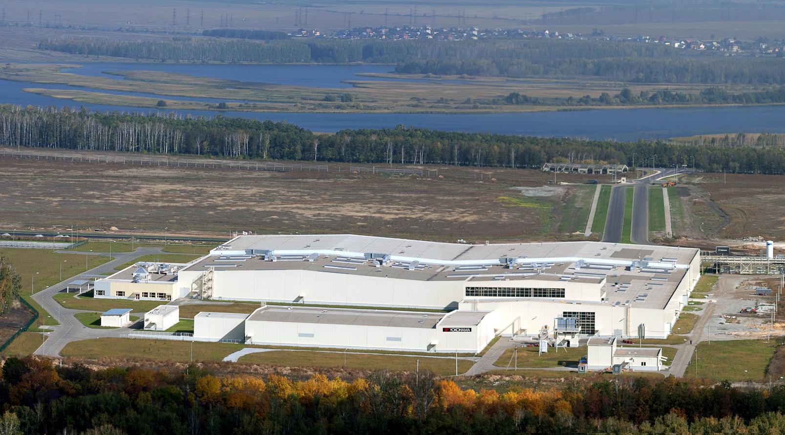 ロシア工場外観