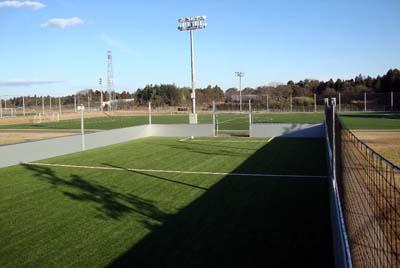施工例:流通経済大学 フットボールフィールド