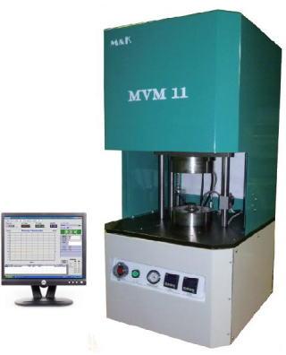 ムーニー粘度計「MVM11」