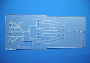 マイクロ流体チップのサンプル