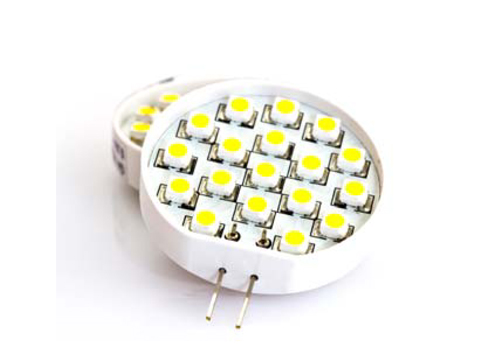 LED照明での使用例
