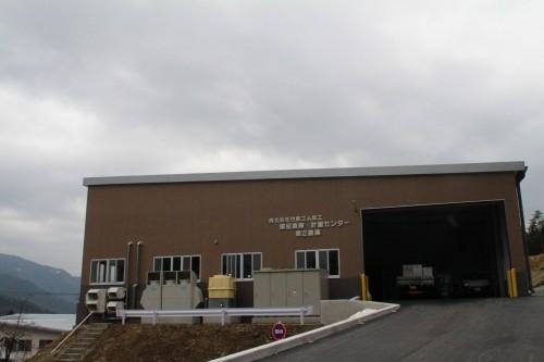 新設した薬品倉庫・計量センター第2倉庫