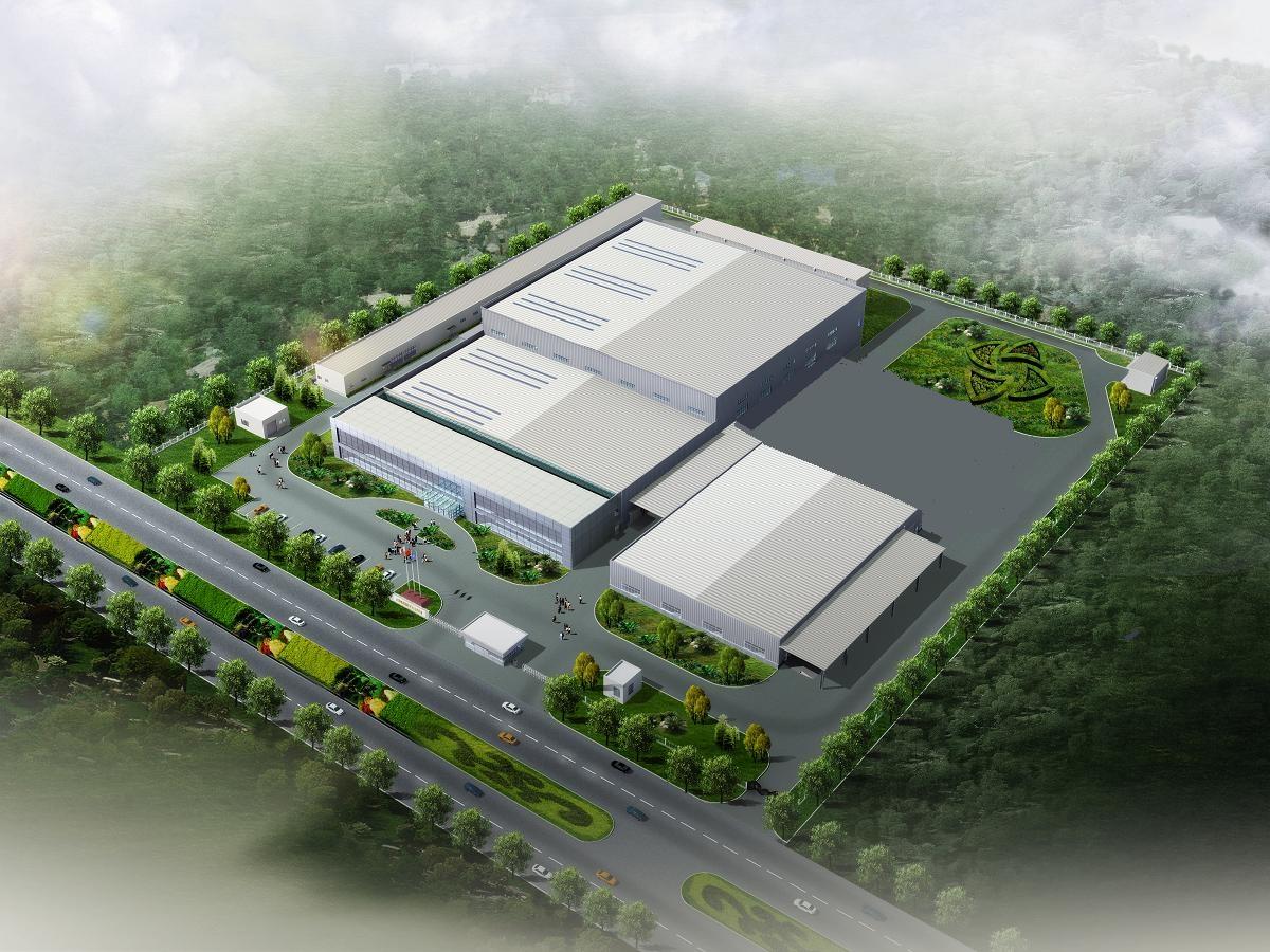 中国・天津のCMB新工場