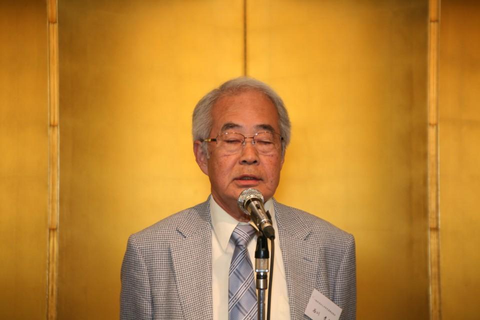 西川会長のあいさつ