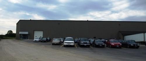 TGミント ストラトフォード工場外観写真