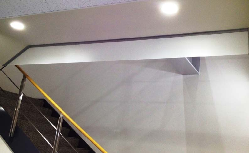 「防煙垂れ壁」用の設置例