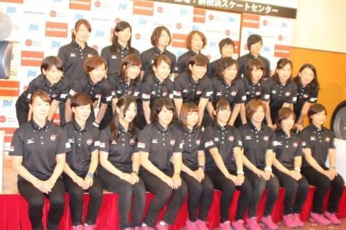 アイスホッケー日本女子代表チーム