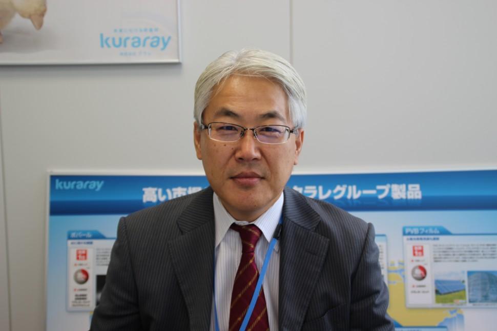 冨野清ゴム・化成品営業部部長