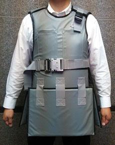 シリコーンゴムシート「ラディバリヤーシート」を使った放射線防護