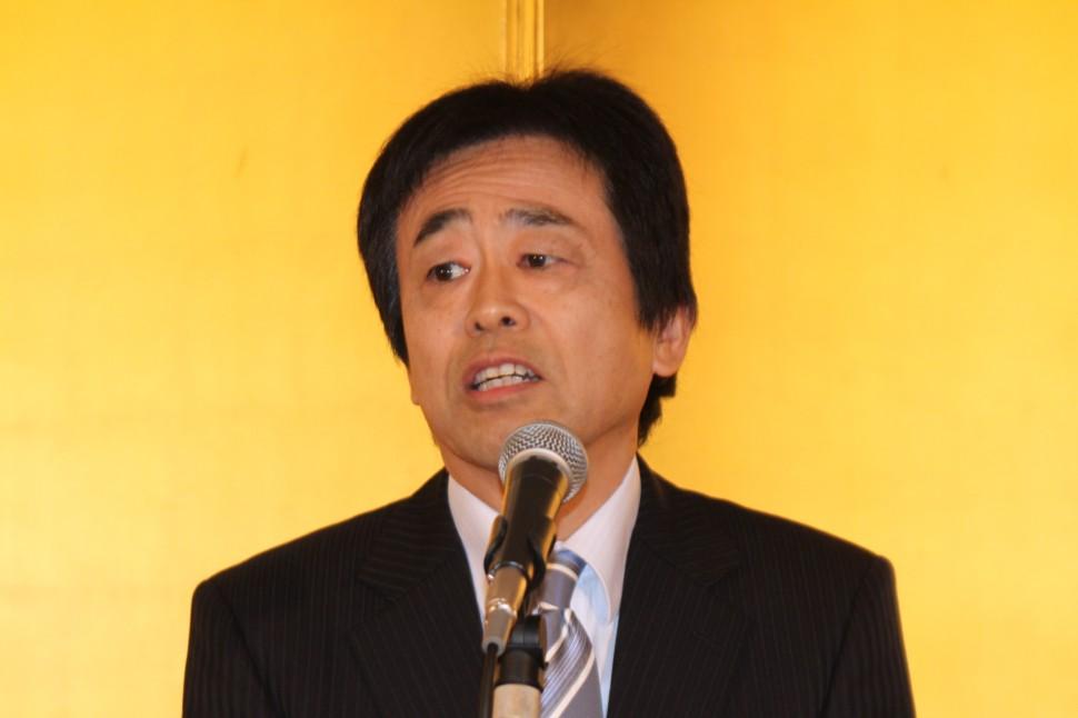 川島理事のあいさつ