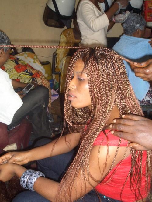 ガーナの女性