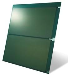 外壁ユニットに組み込む太陽電池モジュール