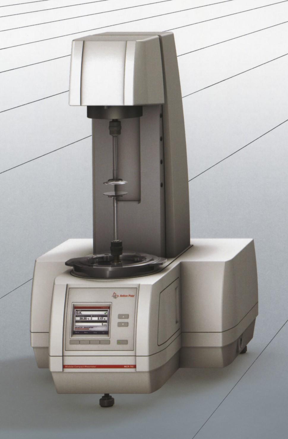 世界初の「ツインドライブレオメータMCR702」