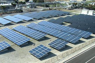 完成した茂原太陽光発電所