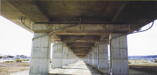 ホース施工事例 東北新幹線