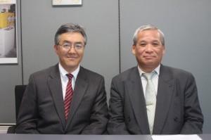 加藤社長と澤木執行役員