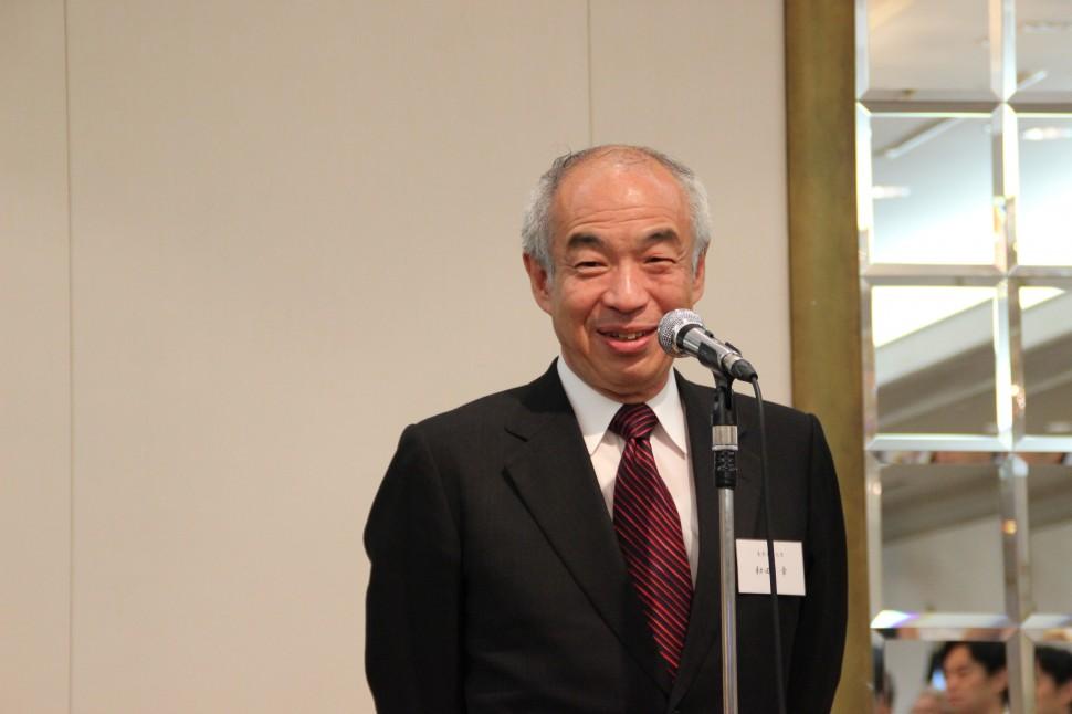 和田章新会長