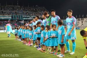 ブリヂストン杯少年サッカー大会(2013年)の様子 2