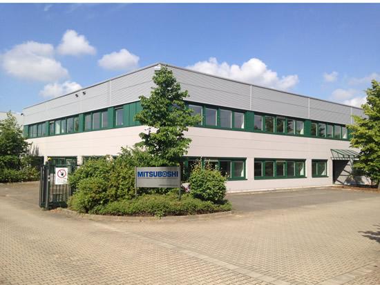 三ツ星ベルト ドイツ新事務所兼倉庫