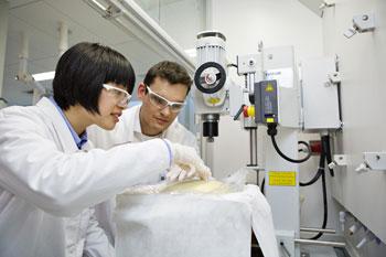 イノベーション・キャンパス・アジア・パシフィックでの研究開発の様子