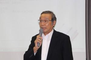 矢島人材育成部会長のあいさつ