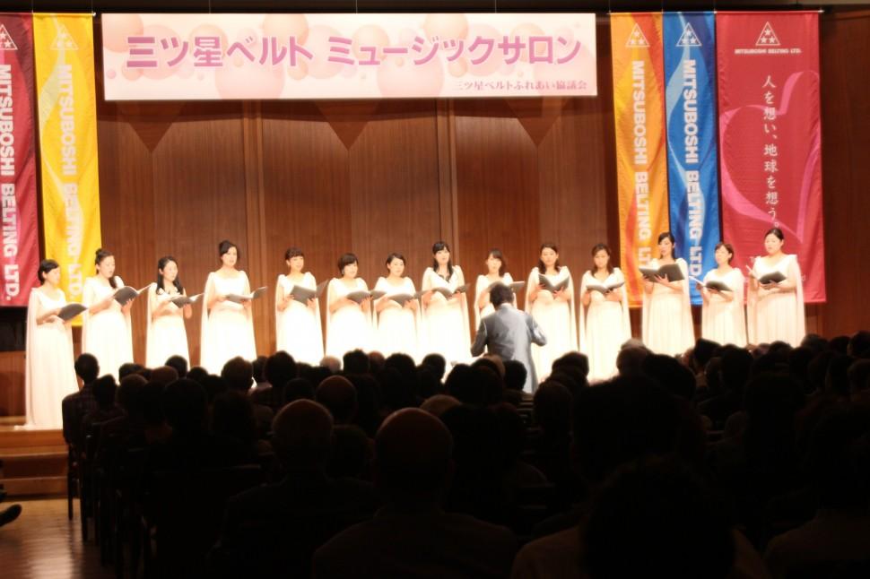 レガーロ東京と古橋指揮者