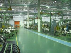 従来工法で生産する第2工場