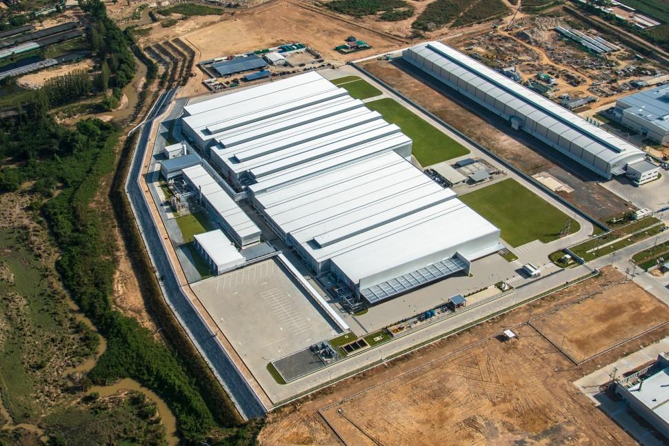 5月から稼働を開始しているタイ農機用タイヤ工場