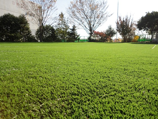 人工芝敷設イメージ