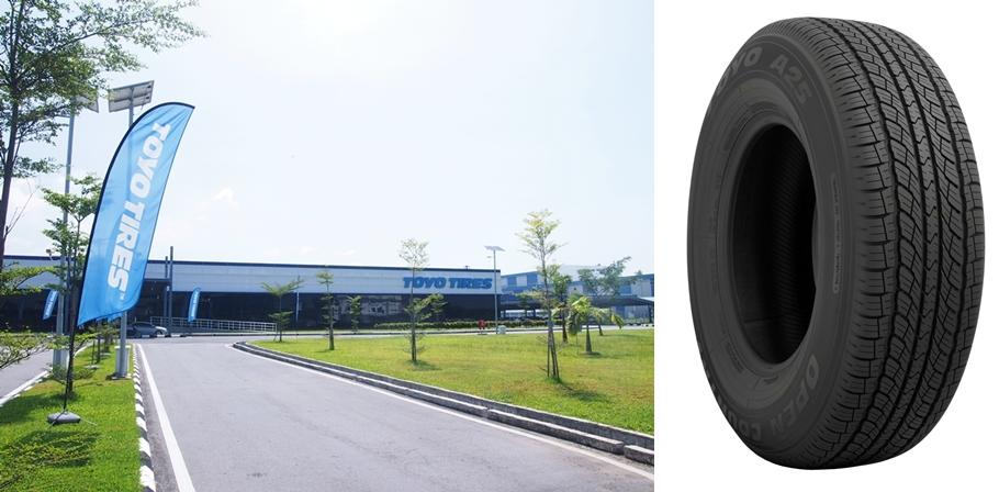 (左)マレーシア工場(右)OPEN COUNTRY A25