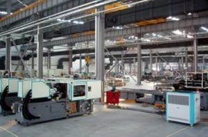 工場内部の様子