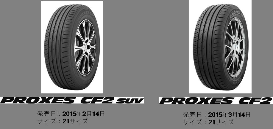 「プロクセス CF2 SUV」と「プロクセス CF2」