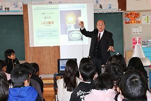 LEDについての学習の様子