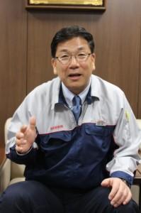 中計について解説する前田龍一社長