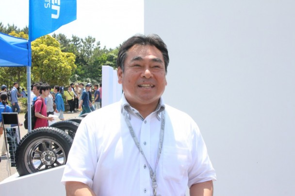 「ファルケンの知名度が上がった」と話す増田栄一ダンロップタイヤ営業本部副本部長
