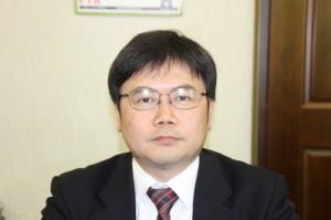 抱負を語る矢田新社長