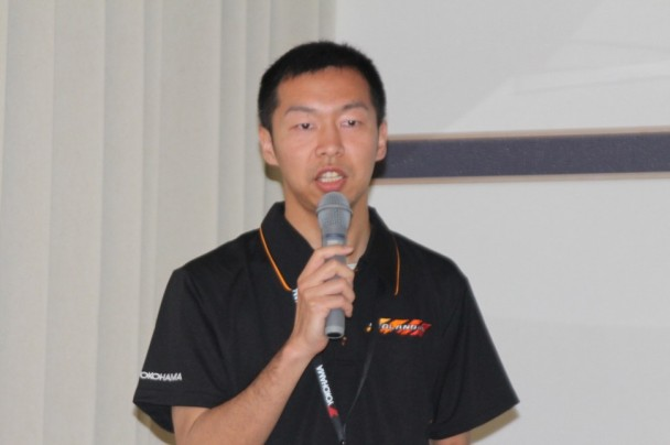 タイヤ消費財開発本部 タイヤ第一設計部 設計3G 村田尚久氏