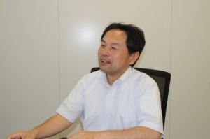 現況を語る森田 ブリヂストン ベルト事業企画部長