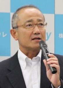 説明を行う髙井ジェネスタ事業部長
