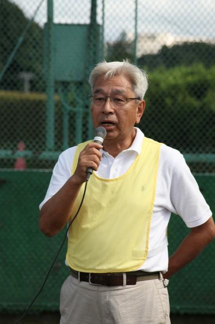 「この大会を無事終了することができてよかった」小杉茂夫副理事長
