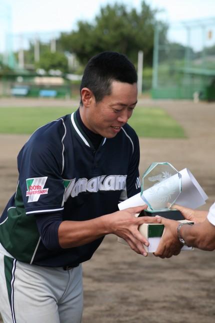MVPの木野村投手「キャッチャーが構えた所に投げて、野手がしっかりと守ってくれた。大胆に行けたのが良かった」